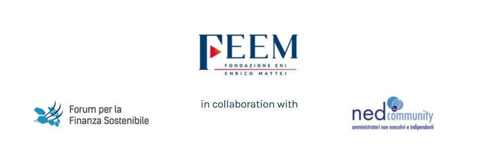 Webinar FEEM – 09/06/2021  Investimenti sostenibili e informativa non-finanziaria: le nuove proposte della Commissione Europea