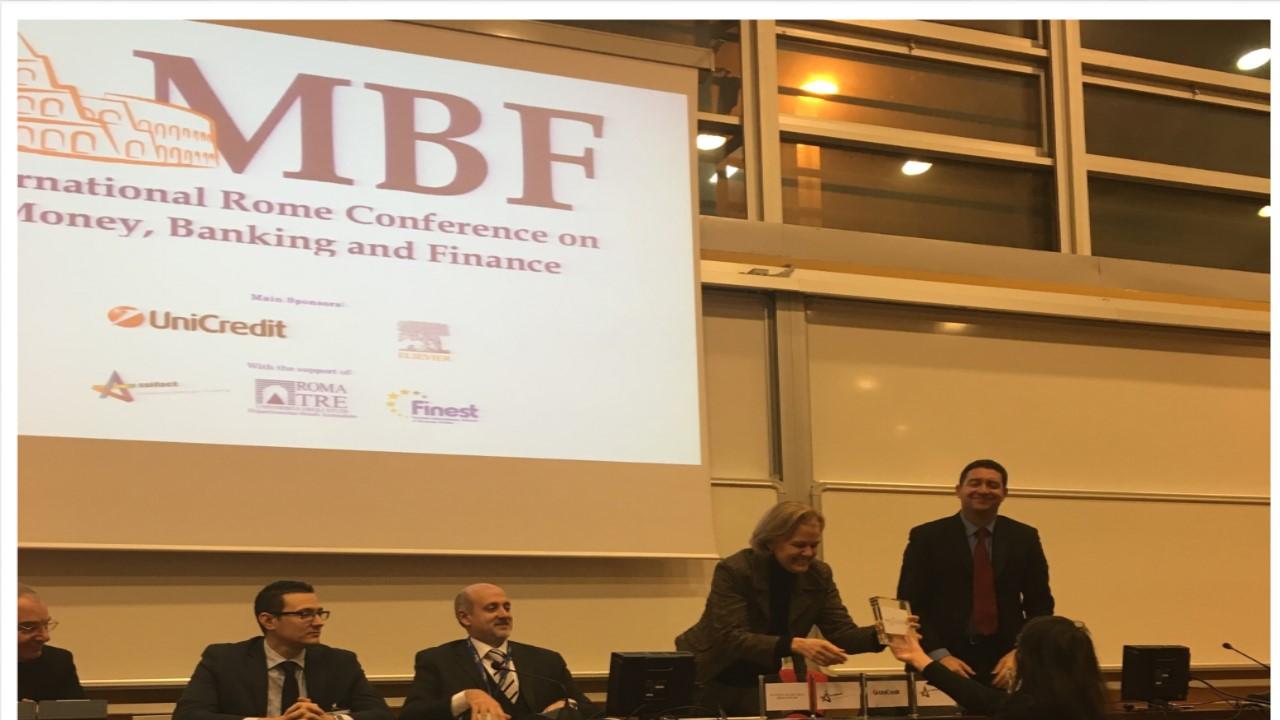 Nedcommunity Award – International Rome Conference on Money, Banking and Finance